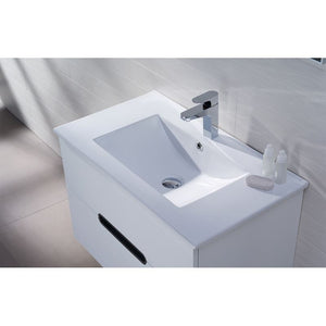 Adornus Yakira Vanity, High Gloss White, 32""