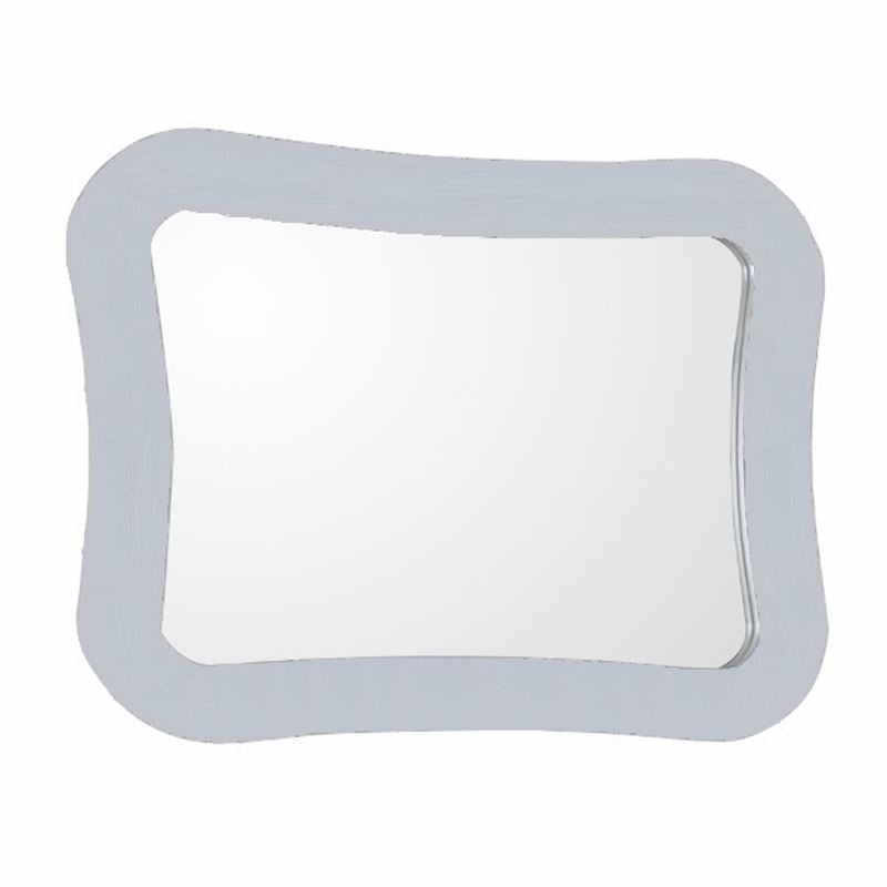 Bellaterra Framed Mirror Manufactured Wood White