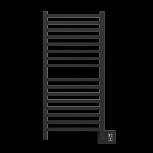 Amba Quadro Q-2042 16 Bar Towel Warmer, Matte Black