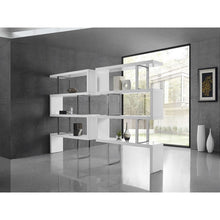 Load image into Gallery viewer, SCALA High Gloss White Lacquer Bookcase by Casabianca Home