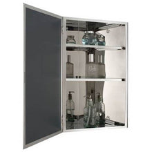 Load image into Gallery viewer, Bellaterra Stainless Steel Corner Mirror Cabinet