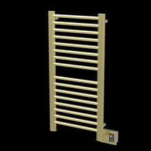 Load image into Gallery viewer, Amba Sirio S-2142 16 Bar Towel Warmer, Satin Brass