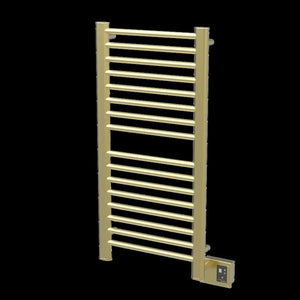 Amba Sirio S-2142 16 Bar Towel Warmer, Satin Brass