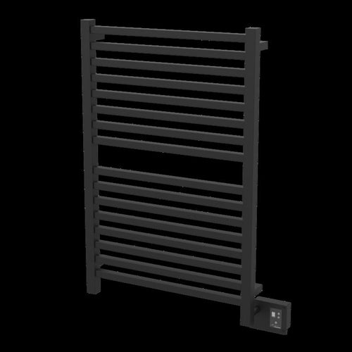 Amba Quadro Q-2842 16 Bar Towel Warmer, Matte Black