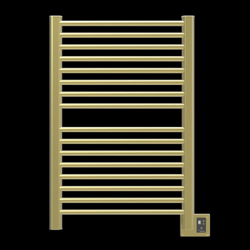 Amba Sirio S-2942 16 Bar Towel Warmer, Satin Brass