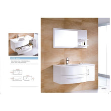 Load image into Gallery viewer, Adornus Aden Vanity, High Gloss White 43""