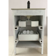Load image into Gallery viewer, Bellaterra 24 In Single Sink Vanity Manufactured Wood White 9008-24-WH