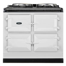 Load image into Gallery viewer, AGA Dual Control Cast Iron 3-Oven Dual Fuel Range WHITE