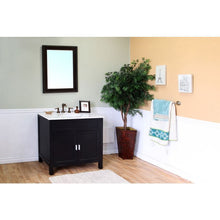 Load image into Gallery viewer, Bellaterra 36 In Single Sink Vanity Wood Ebony