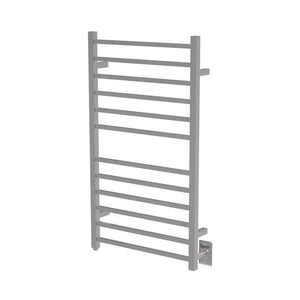 Amba Radiant Large Hardwired Square 12 Bar Towel Warmer, Brushed