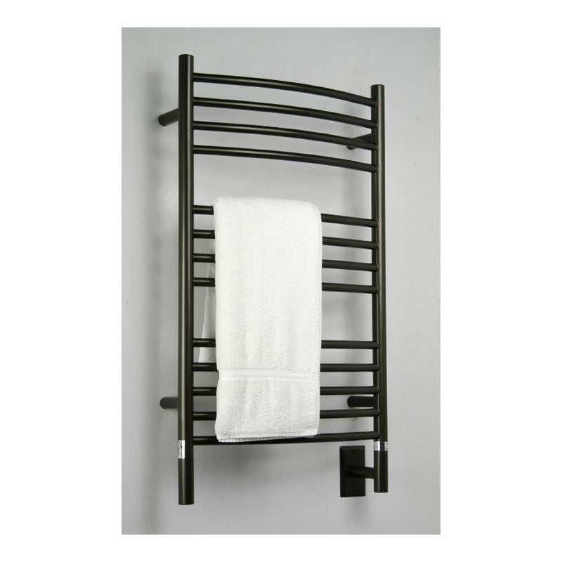 Amba C Curved 13 Bar Towel Warmer, Oil Rubbed Bronze