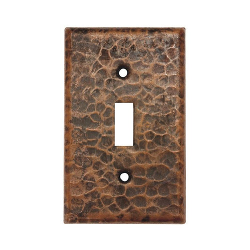 Copper Switchplate Single Toggle Switch Cover - Quantity 2