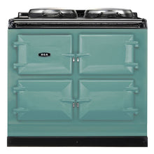Load image into Gallery viewer, AGA Dual Control Cast Iron 3-Oven Dual Fuel Range PISTACHIO