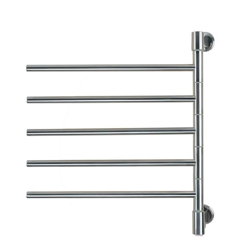 Amba Jack D005 5 Bar Towel Warmer, Polished