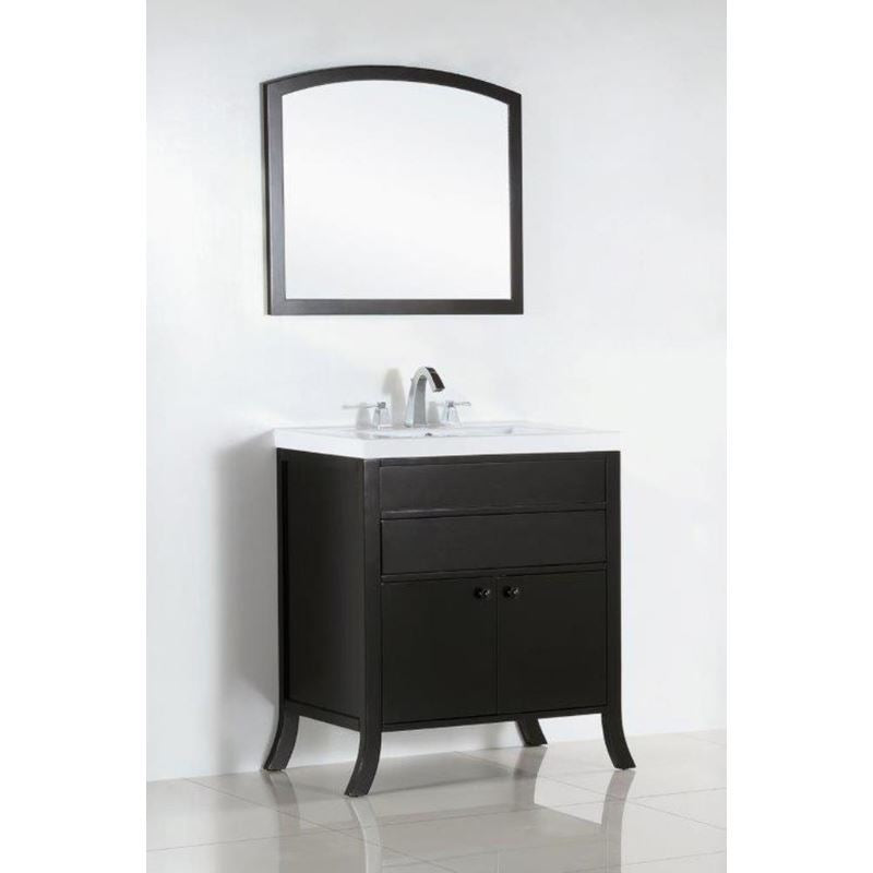 Bellaterra 30 In. Single Sink Vanity 500823B-30