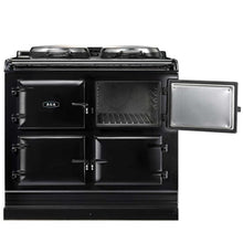 Load image into Gallery viewer, AGA Total Control Cast Iron 3-Oven Electric Range AUBERGINE