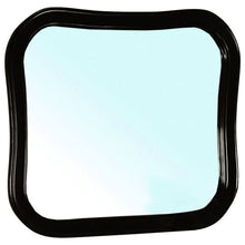 Load image into Gallery viewer, Bellaterra Solid Wood Frame Mirror Black 203037-MIRROR-B