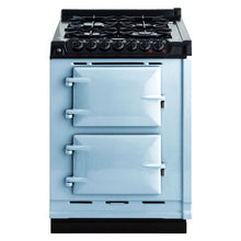 Load image into Gallery viewer, AGA Dual Fuel Module, Natural Gas Cooktop DUCK EGG BLUE