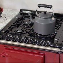 Load image into Gallery viewer, AGA Dual Fuel Module, Propane (LP) Gas Cooktop PEWTER