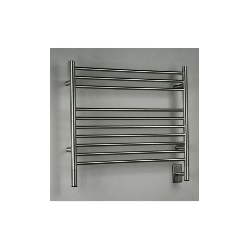 Amba K Straight 10 Bar Towel Warmer, Brushed