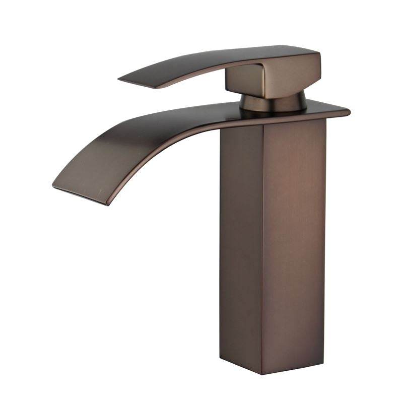 Santiago Single Handle Bathroom Vanity Faucet in Oil Rubbed Bronze