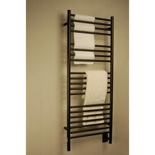 Load image into Gallery viewer, Amba D Straight 20 Bar Towel Warmer, Oil Rubbed Bronze