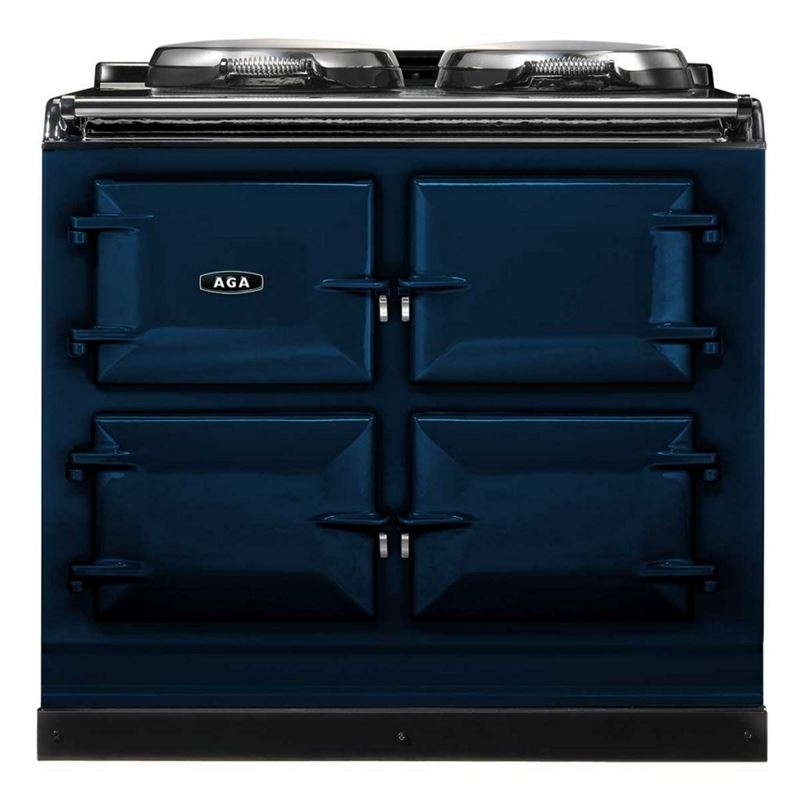 AGA Total Control Cast Iron 3-Oven Electric Range DARK BLUE