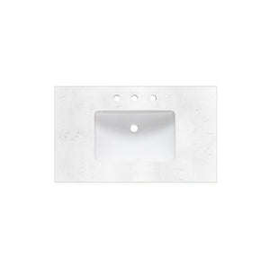 "Fairmont Designs 1502-V36 Framingham 36"" Modern Bathroom Vanity in Polar White"