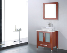 Load image into Gallery viewer, Adornus Adrian Vanity, Chestnut, Quartz Top, 24""