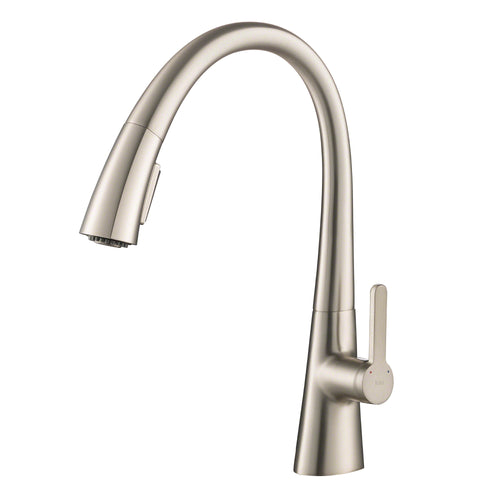 KRAUS Nolen™ Single Handle Pull Down Kitchen Faucet with Dual Function Sprayer