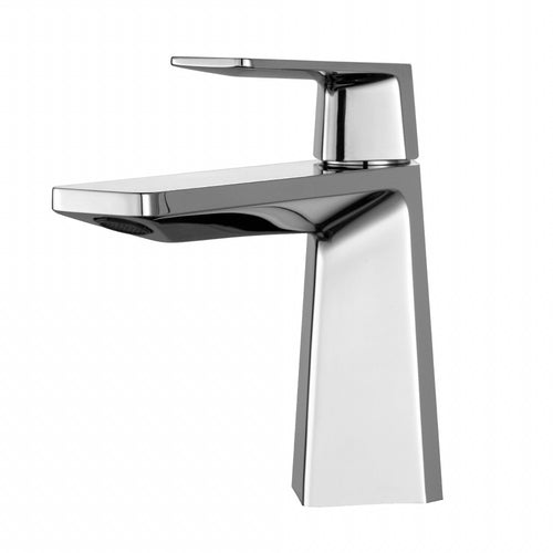 KRAUS Aplos Single Hole Single-Handle Bathroom Faucet in Chrome