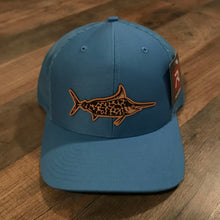 Load image into Gallery viewer, Leather Patch/ Camo Marlin Hat