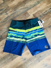 Load image into Gallery viewer, Mens Piscator 4-Way Stretch Multi Color Boardshorts