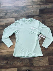 Ladies Piscator Solid Long Sleeve UPF 50+ Sun Shirt