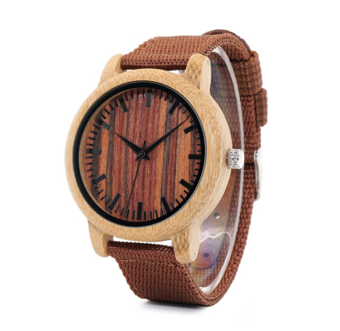 Orologio In Legno | Bamboo Watch - Amazing Shop
