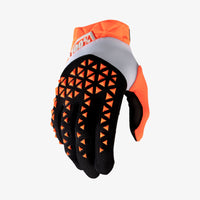 AIRMATIC Gloves Orange and Black