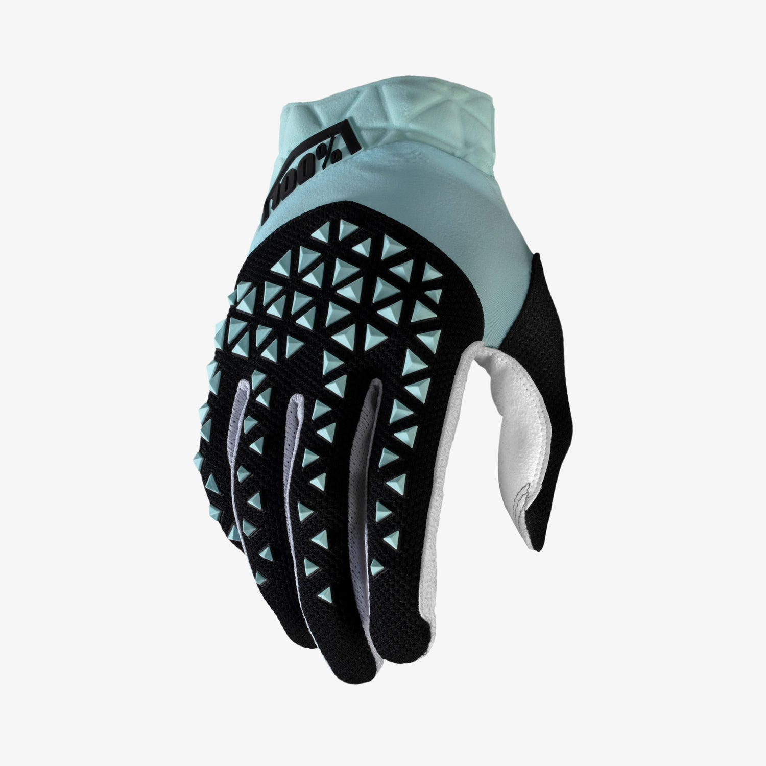 AIRMATIC Gloves Sky Blue and Black