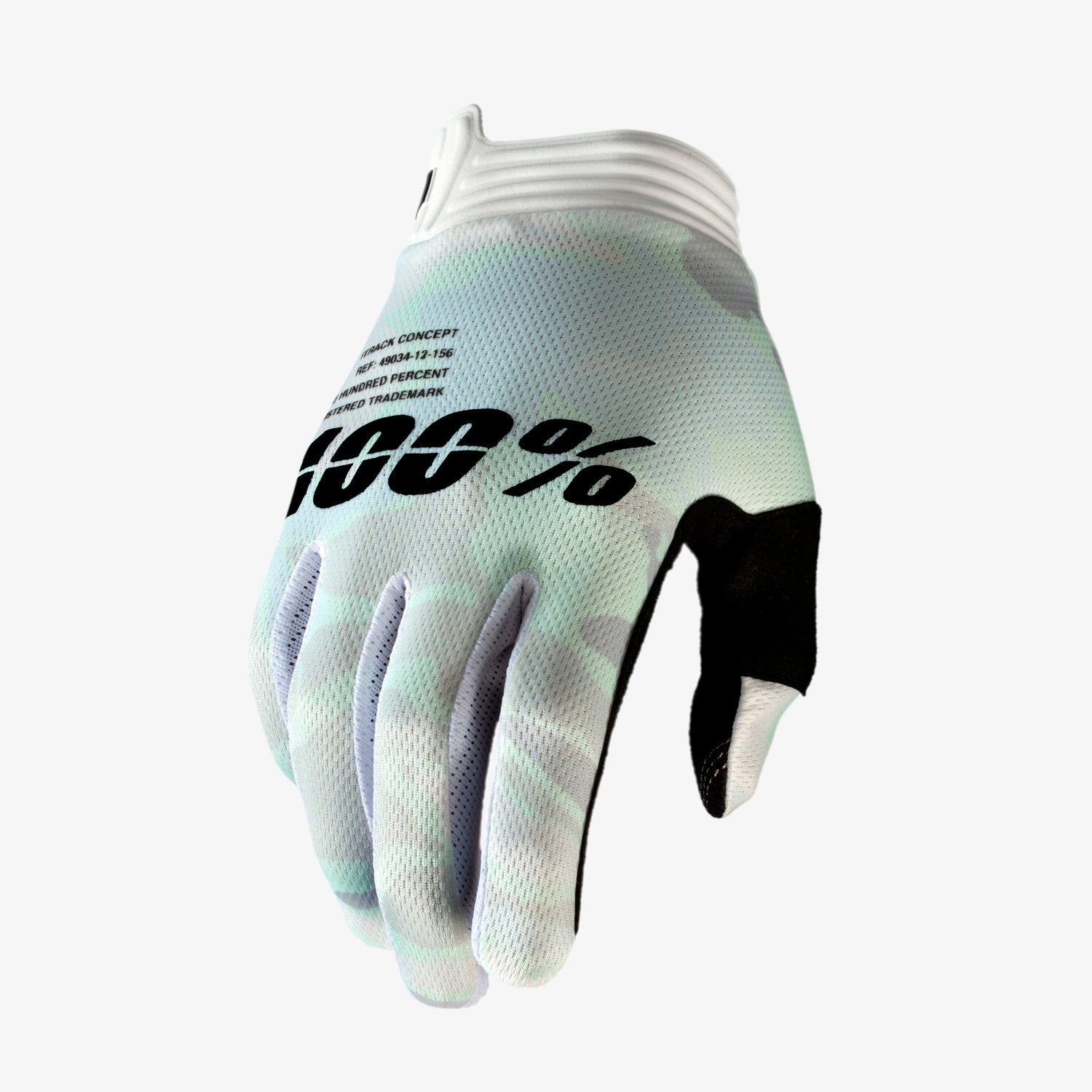 iTRACK Gloves White Camo