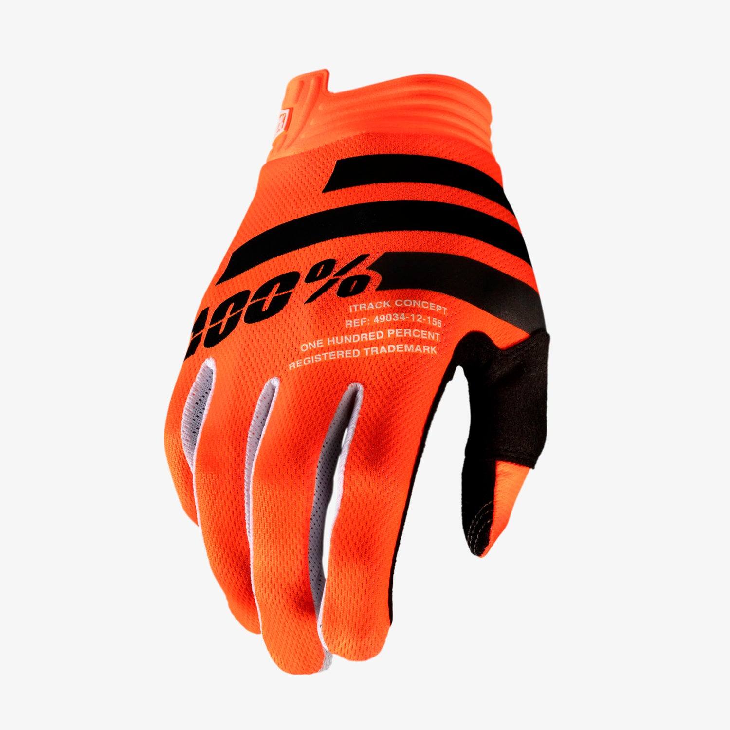iTRACK Gloves Orange and Black
