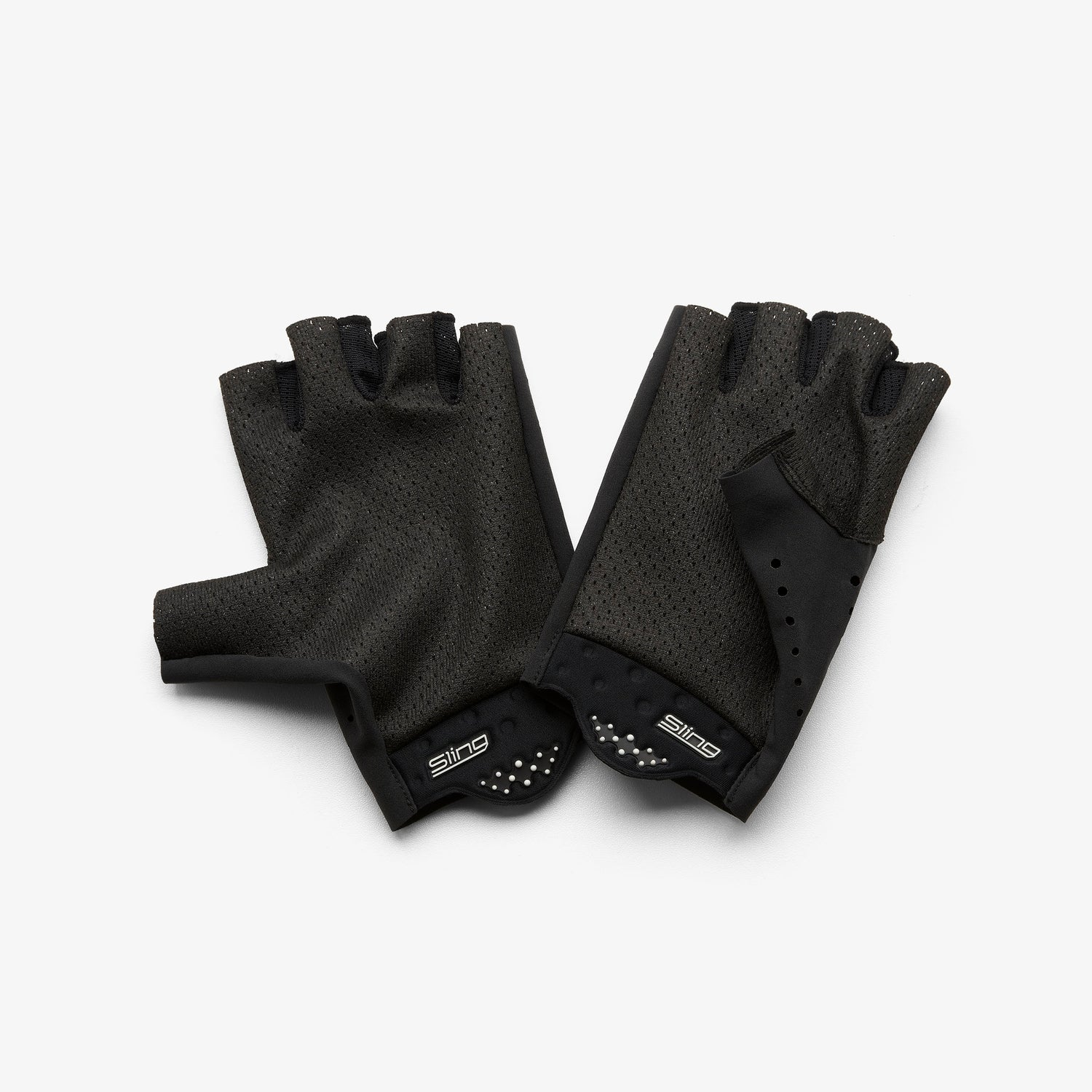 SLING Short Finger Gloves Black