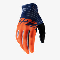 CELIUM Gloves Navy and Orange