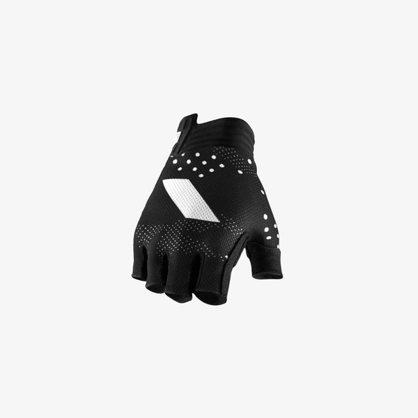 EXCEEDA Gel Short Finger Glove - Black - Womens