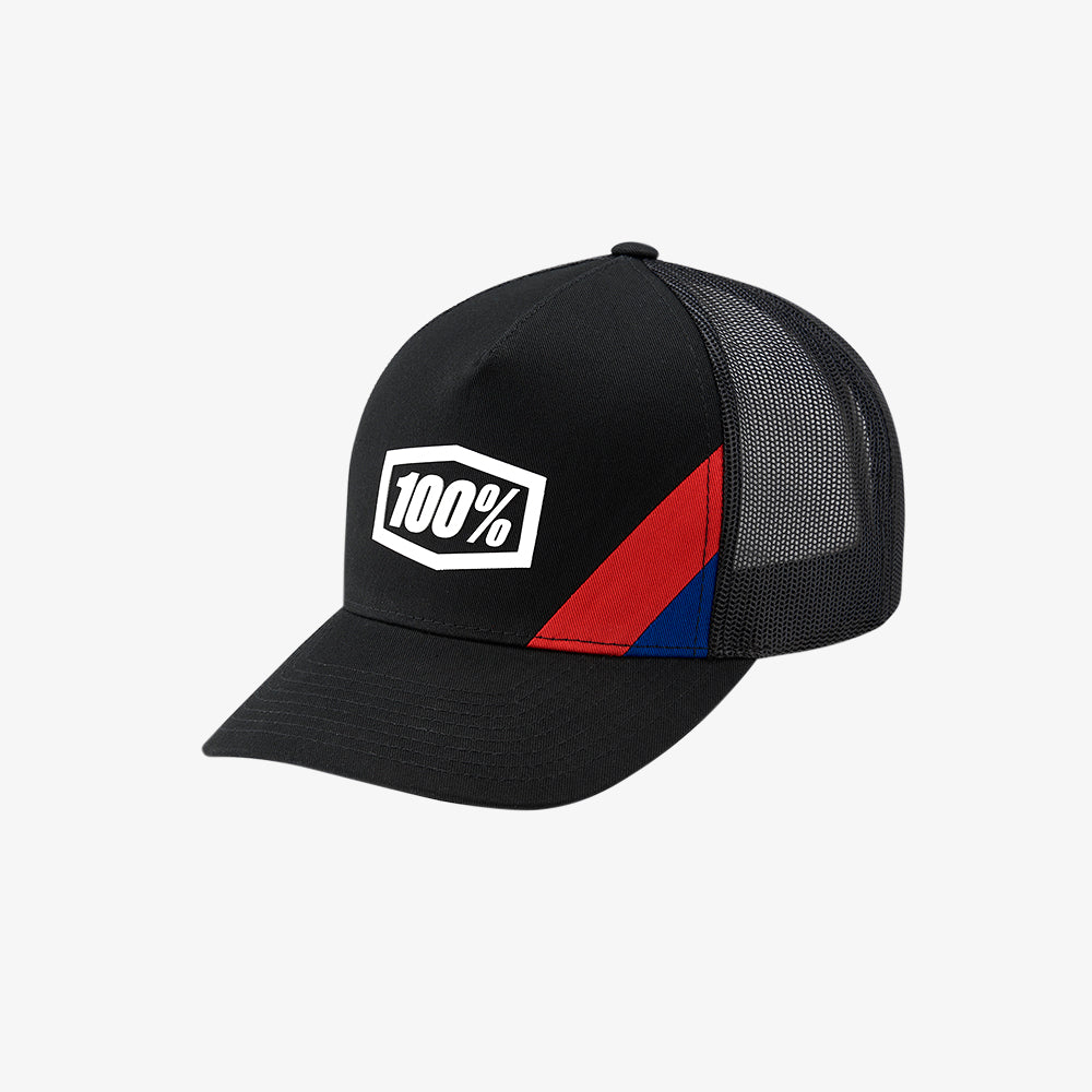 CORNERSTONE X-Fit Snapback Hat - Black