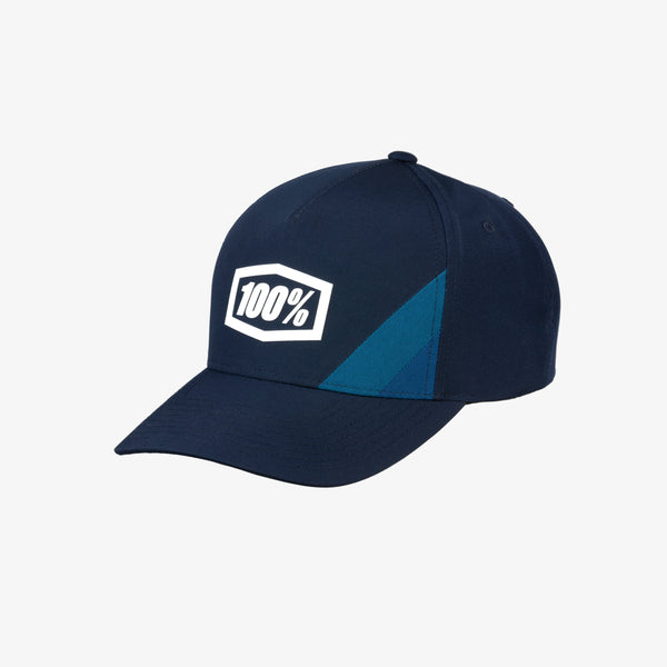 CORNERSTONE X-Fit Snapback Hat Navy