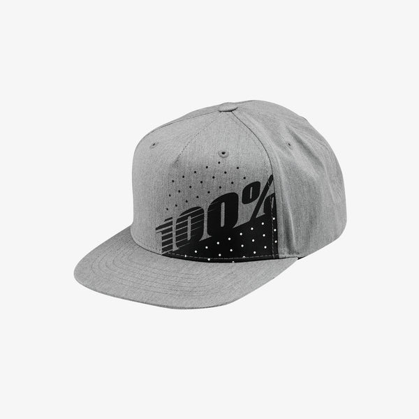 OSCILLATE Youth Snapback Hat - Grey