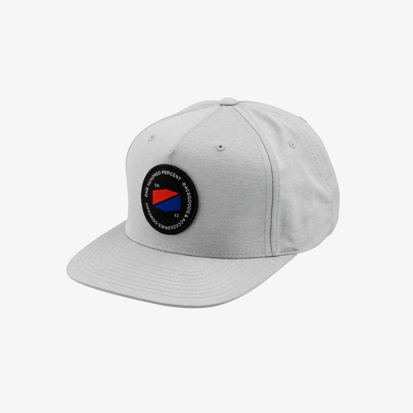 JEFFERSON Snapback Hat Grey
