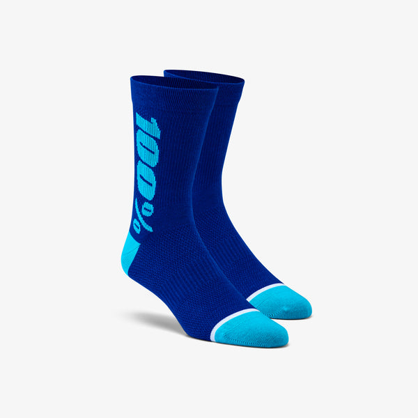 RYTHYM Merino Wool Performance Socks - Blue
