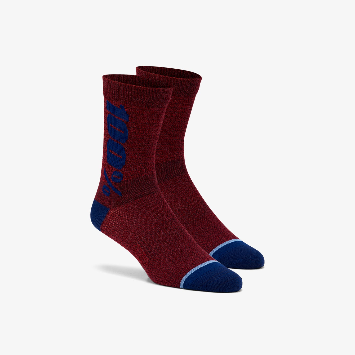 RYTHYM Merino Wool Performance Socks - Brick