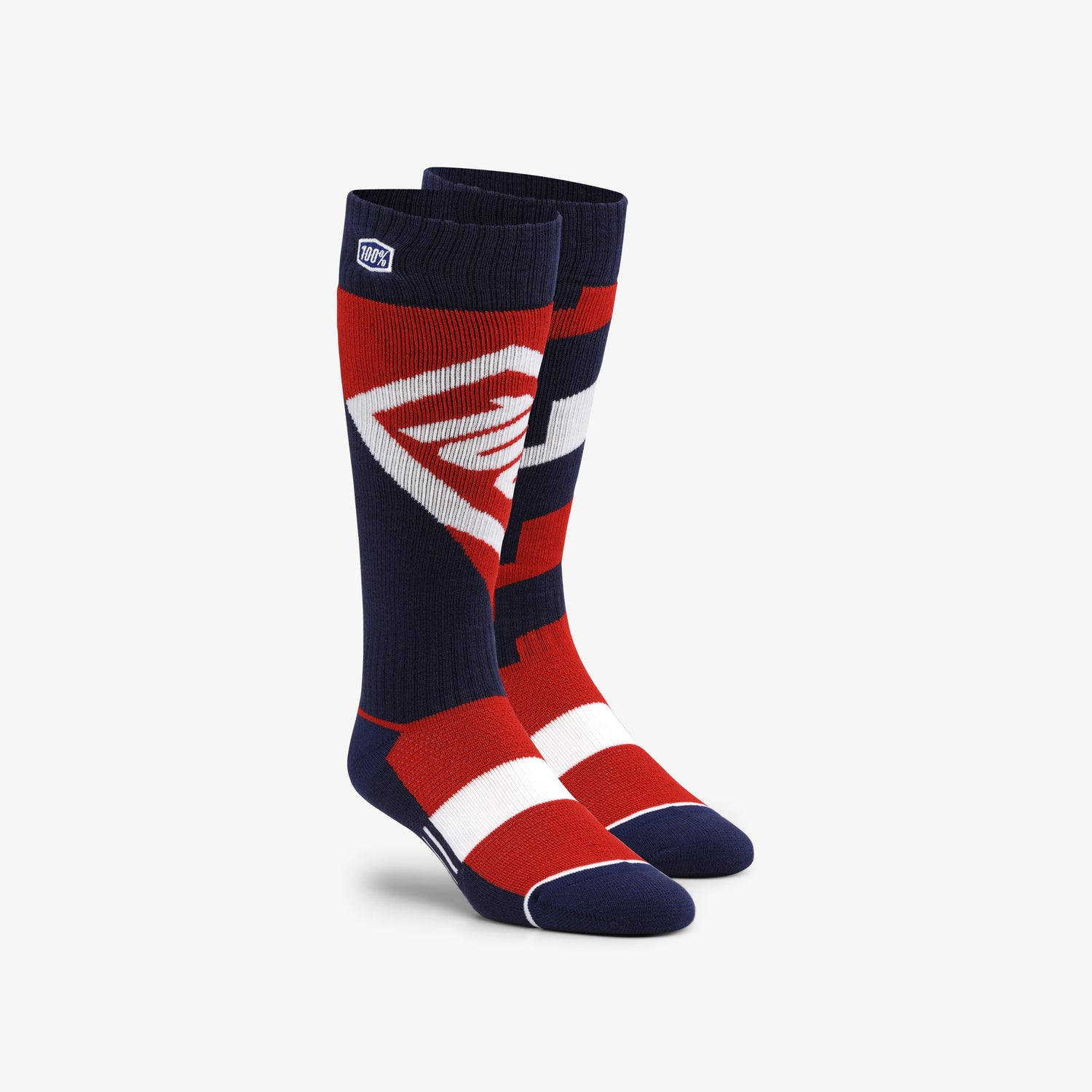 TORQUE Comfort Moto Socks - Red