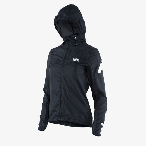 AERO TECH Windbreaker - Black - Womens